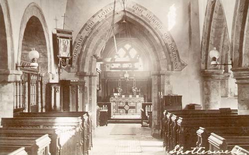 St Laurence interior 1919