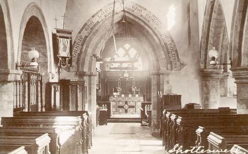 St Laurence interior 1919