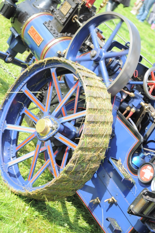 Steam engine at Shotteswell fete