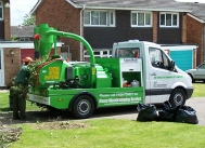 Wood chipping service provided by WCC