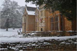 Wroxton abbey side view