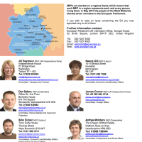 Local MP & MEP contact details